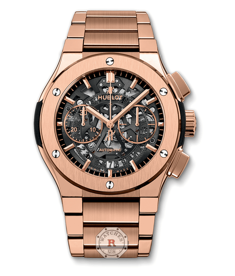 Hublot CLASSIC FUSION AEROFUSION KING GOLD BRACELET 45 mm - Watches R us
