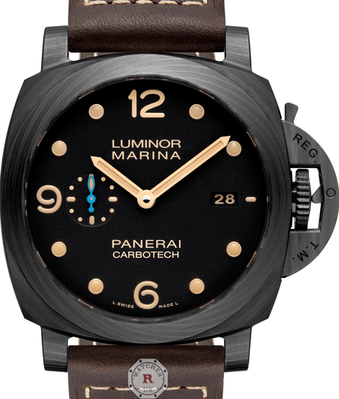Panerai LUMINOR MARINA 1950 CARBOTECH™ 3 DAYS - 44MM PAM00661 - Watches R us
