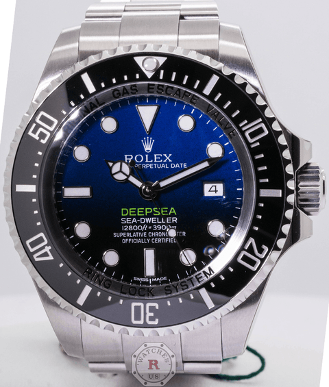 Rolex DEEPSEA D-BLUE DIAL JAMES CAMERON 44MM 116660 - Watches R us