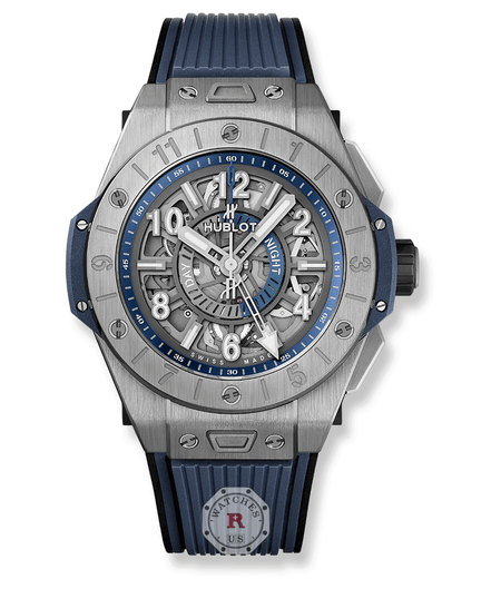 Hublot BIG BANG UNICO GMT TITANIUM 45 mm 471.NX.7112.RX - Watches R us