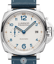 Panerai LUMINOR DUE 3 DAYS AUTOMATIC ACCIAIO - 42MM PAM00906 - Watches R us