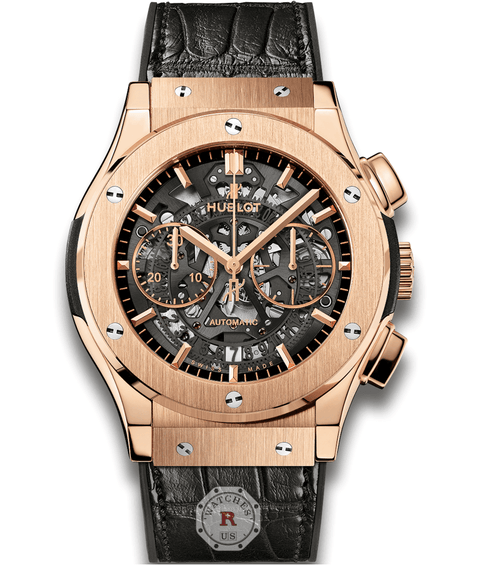 Hublot CLASSIC FUSION AEROFUSION KING GOLD 45 mm - Watches R us