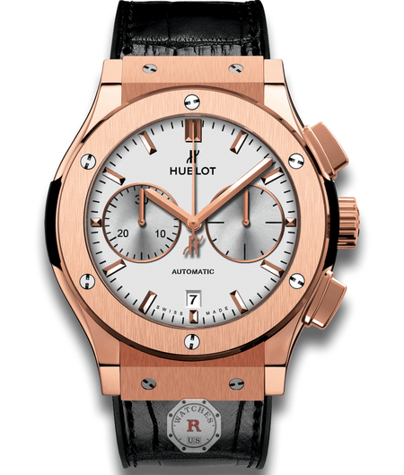 Hublot CLASSIC FUSION CHRONOGRAPH KING GOLD OPALIN 45 mm Available Sizes : 42 mm - Watches R us