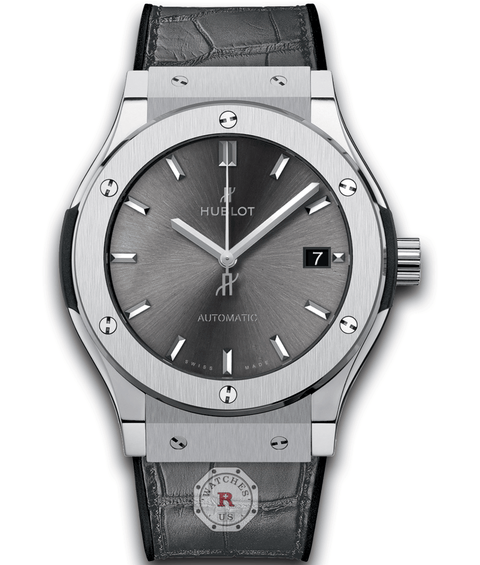 Hublot CLASSIC FUSION RACING GREY TITANIUM 45 mm Available Sizes : 42-38-33 mm - Watches R us