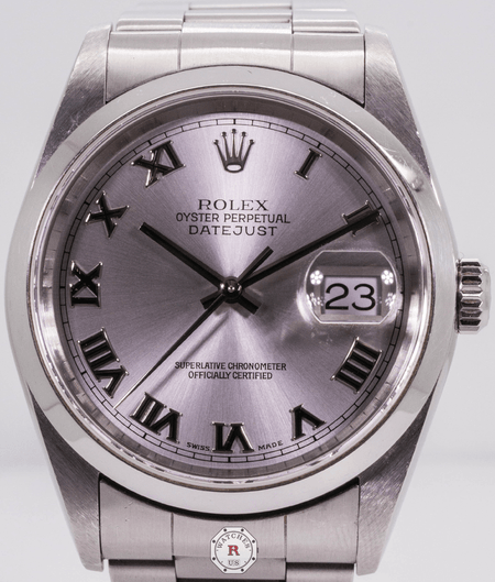 Rolex  DateJust Steel - Silver Dial 16200 - Watches R us