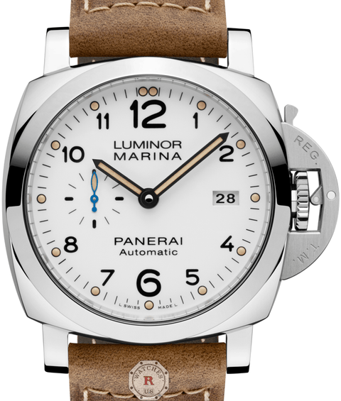 Panerai LUMINOR MARINA 1950 3 DAYS AUTOMATIC ACCIAIO - 44MM PAM01499 - Watches R us