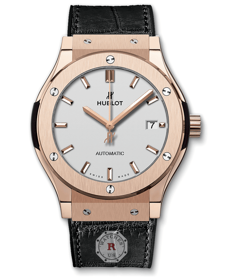 Hublot CLASSIC FUSION KING GOLD OPALIN 45 mm Available Sizes : 42-38-33 mm - Watches R us
