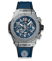Hublot BIG BANG UNICO TITANIUM BLUE 45 mm 411.NX.5179.RX - Watches R us