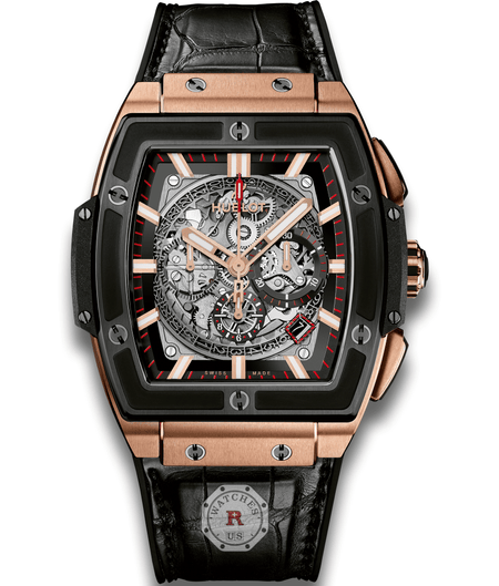 Hublot SPIRIT OF BIG BANG KING GOLD CERAMIC 45 mm Available Sizes : 42 mm - Watches R us