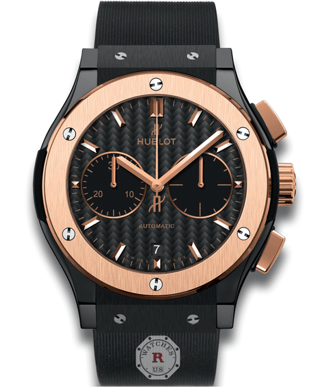 Hublot CLASSIC FUSION CHRONOGRAPH CERAMIC KING GOLD 45 mm Available Sizes : 42 mm - Watches R us