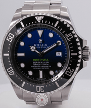Rolex DEEPSEA D-BLUE 44mm James Cameron 116660 - Watches R us