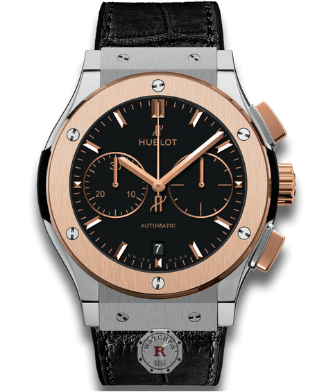 Hublot CLASSIC FUSION CHRONOGRAPH TITANIUM KING GOLD 45 mm Available Sizes : 42 mm - Watches R us