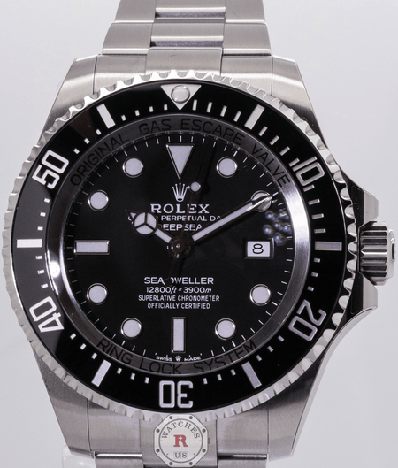 Rolex DEEPSEA 126660 Steel 44mm 2018 BaselWorld Edition - Watches R us