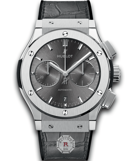 Hublot CLASSIC FUSION RACING GREY CHRONOGRAPH TITANIUM 45 mm - Watches R us