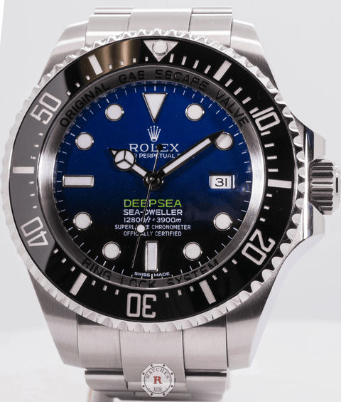 Rolex DEEPSEA D-BLUE 44mm James Cameron 116660 2020 Model - Watches R us