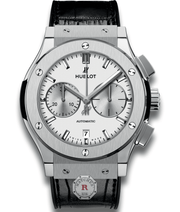 Hublot CLASSIC FUSION CHRONOGRAPH TITANIUM OPALIN 45 mm Available Sizes : 42 mm - Watches R us