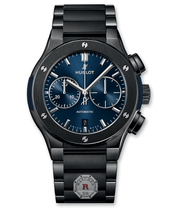 Hublot CLASSIC FUSION CHRONOGRAPH CERAMIC BLUE BRACELET 45 mm - Watches R us