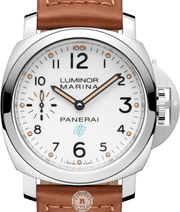 Panerai LUMINOR MARINA LOGO 3 DAYS ACCIAIO - 44MM PAM00778 - Watches R us