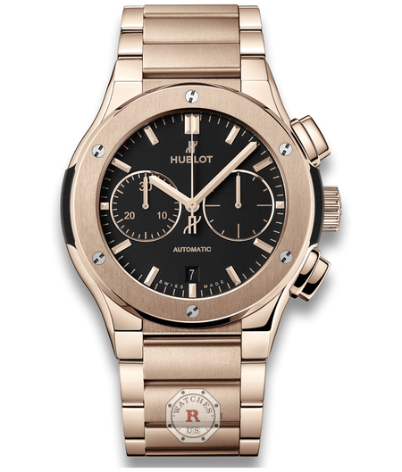 Hublot CLASSIC FUSION CHRONOGRAPH KING GOLD BRACELET 45 mm Available Sizes : 42 mm - Watches R us