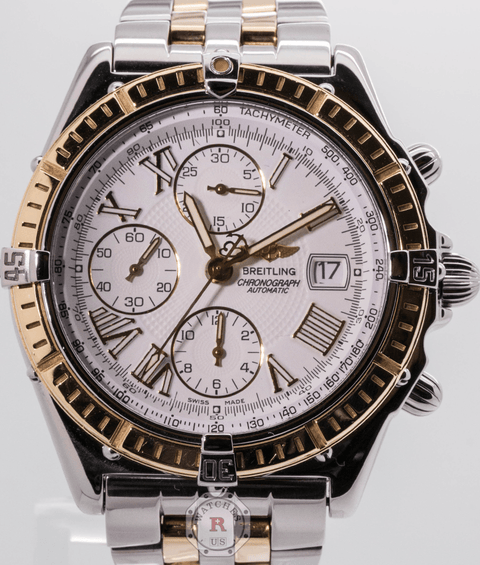 Breitling Chronomat Crosswind 18K Gold Automatic - Watches R us