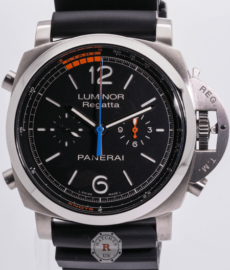 Panerai LUMINOR 1950 CHRONO FLYBACK AUTOMATIC TITANIO - 47MM PAM00526 - Watches R us
