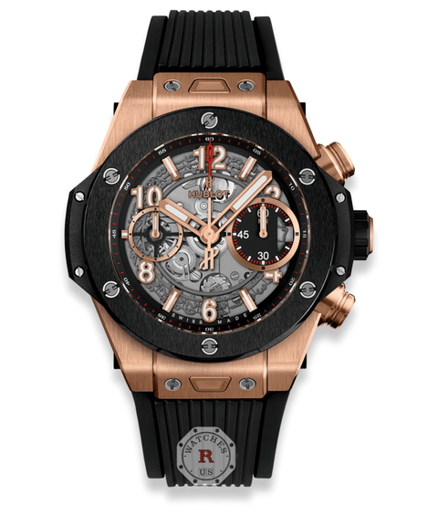 Hublot BIG BANG UNICO KING GOLD CERAMIC 42 mm 441.OM.1180.RX - Watches R us