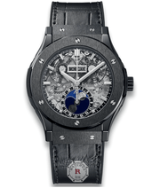 Hublot CLASSIC FUSION AEROFUSION MOONPHASE BLACK MAGIC 45 mm - Watches R us