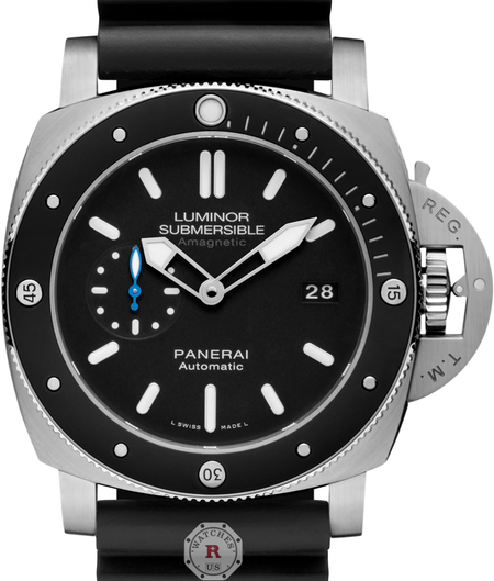 Panerai LUMINOR SUBMERSIBLE 1950 AMAGNETIC 3 DAYS  TITANIO - 47MM PAM01389 - Watches R us
