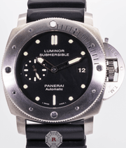 Panerai Luminor Submersible 1950 3 Days Automatic 47mm Titanium PAM 305 - Watches R us