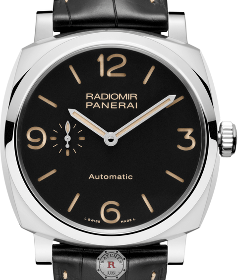 Panerai RADIOMIR 1940 3 DAYS AUTOMATIC ACCIAIO - 42MM PAM00620 - Watches R us
