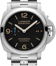 Panerai LUMINOR MARINA 1950 3 DAYS AUTOMATIC ACCIAIO - 44MM PAM00723 - Watches R us