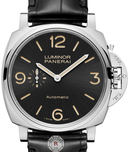 Panerai LUMINOR DUE 3 DAYS AUTOMATIC ACCIAIO - 45MM PAM00674 - Watches R us
