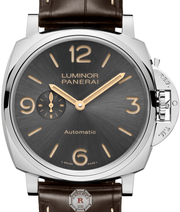 Panerai LUMINOR DUE 3 DAYS AUTOMATIC ACCIAIO - 45MM PAM00739 - Watches R us