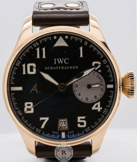 IWC Big Pilot's Watch Edition Antoine de Saint Exupéry IW500421 - Watches R us