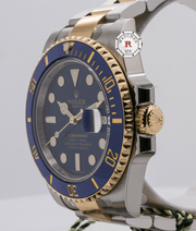 SUBMARINER DATE 40mm Steel and Yellow Gold 116613LB - Watches R us