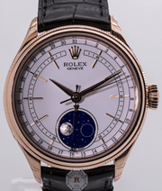 Rolex CELLINI MOONPHASE 39mm 18ct Everose Gold - Watches R us
