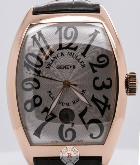 Franck Muller Rose Gold Leather Strap 8880 SC DT - Watches R us