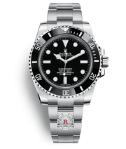 Rolex SUBMARINER Steel 40mm No Date 114060 - Watches R us