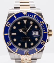 Rolex SUBMARINER DATE 40mm Steel and Yellow Gold 116613LB - Watches R us