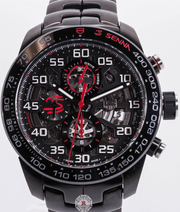 TAG HEUER CARRERA  CALIBRE HEUER01 SENNA SPECIAL EDITION CAR2A1L.BA0688 - Watches R us