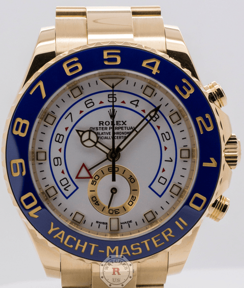 Rolex Yacht-Master II 44mm Yellow Gold 116688 - Watches R us