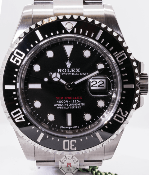 Rolex SEA-DWELLER 43mm Black Dial 126600 - Watches R us
