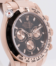 Rolex COSMOGRAPH DAYTONA Everose Gold 40mm 116505 - Watches R us