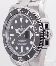 Copy of SUBMARINER 40mm Steel Black Dial 116610LN  2018 - Watches R us