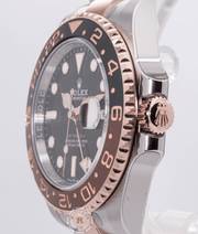 Rolex GMT-MASTER II Steel and Everose Gold Root Beer 126711CHNR - Watches R us
