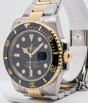 Rolex SUBMARINER-DATE Steel Yellow Gold 116613LN - Watches R us