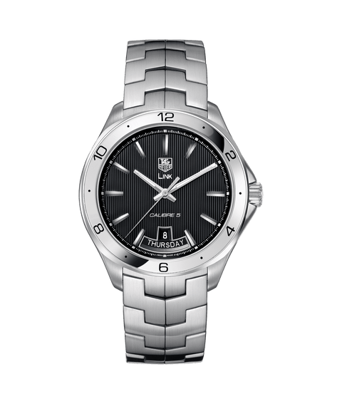 TAG HEUER LINK  Calibre 5 Day-Date WAT2010.BA0951 - Watches R us
