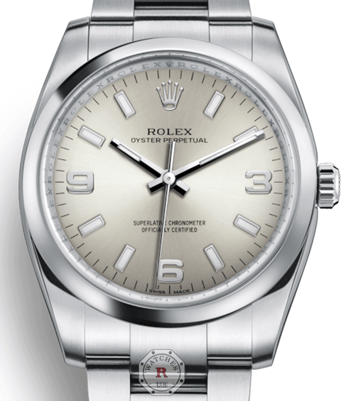 Rolex OYSTER PERPETUAL 34 Steel 114200 - Watches R us