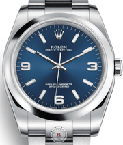 Rolex OYSTER PERPETUAL 36 Steel 116000 Blue - Watches R us