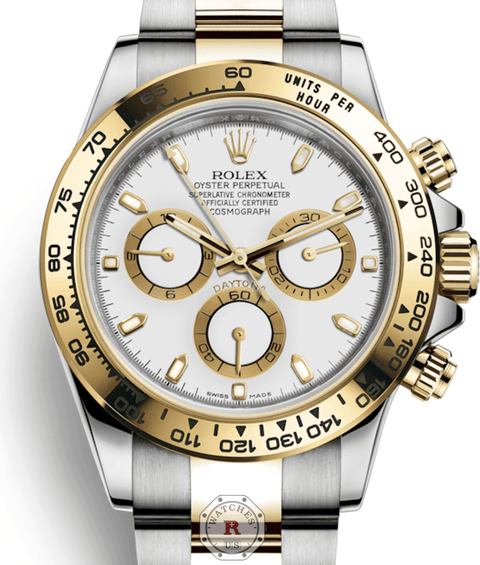 ROLEX COSMOGRAPH DAYTONA white dial 116503 - Watches R us